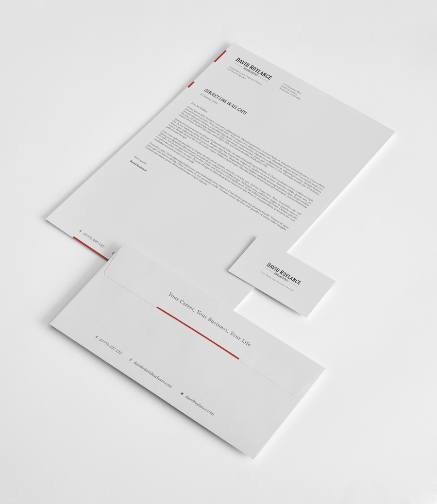 Graphic Design Worthing - Letterhead & Envelope