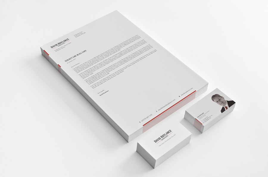 Graphic Design Worthing - Letterhead & Business Cards