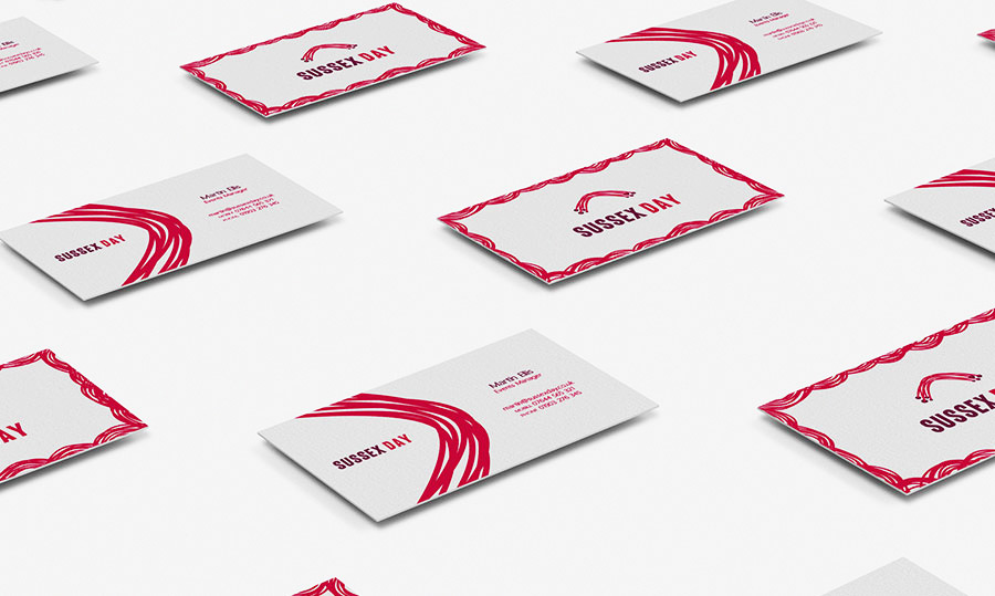 Branding and stationery design - project mockup