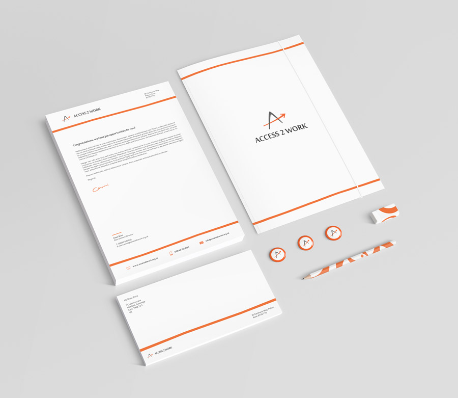 Graphic Design Worthing - Stationery Design