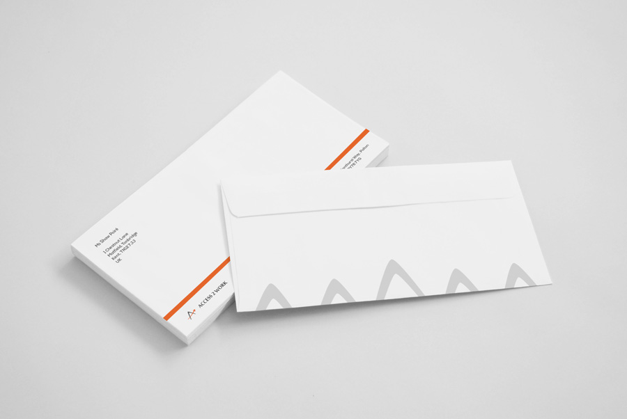 Web Design Worthing - Branded Envelopes