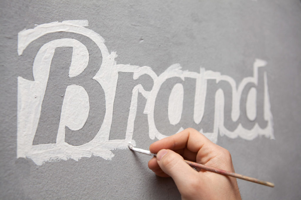 Branding Written on a Wall - Focus on This Before Your Web Design Project