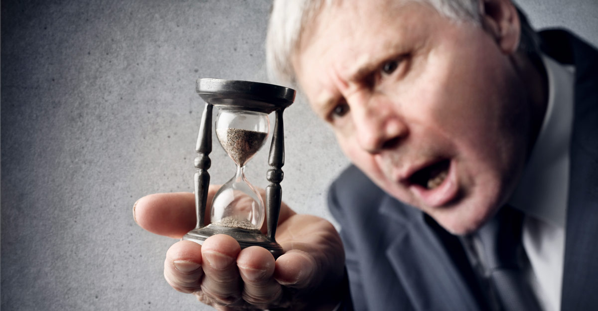 Hourglass Counting Down Small Amount of Time