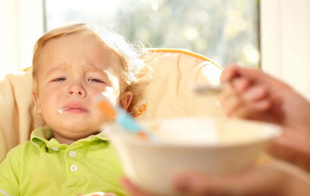 Baby Unhappy With Food - Know What You Don't Want