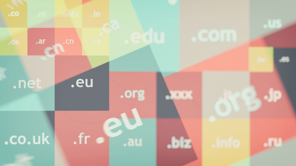 Map of Domain Names - Don't Rush Into Things